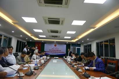 """Hội thảo tổng kết thực hiện các nhiệm vụ KHCN """"Nghiên cứu xây dựng thực nghiệm công trình trên biển đảo"""""""