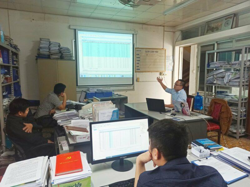 Chương trình đào tạo, hướng dẫn sử dụng phần mềm quản lý Quy hoạch đô thị thông minh tỉnh Cao Bằng.